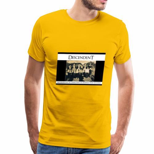 DESENDENT - Men's Premium T-Shirt