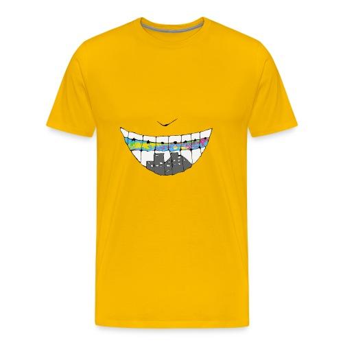 smile world - Men's Premium T-Shirt