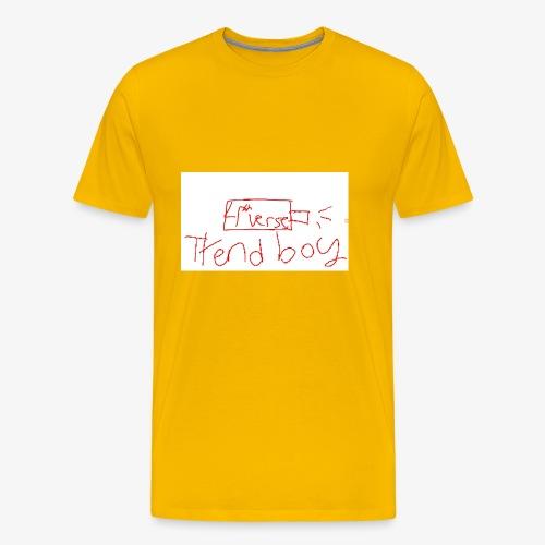 usb drive of the 3rd-4th verse - Men's Premium T-Shirt