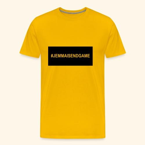 #JEMMAISENDGAME CASE - Men's Premium T-Shirt