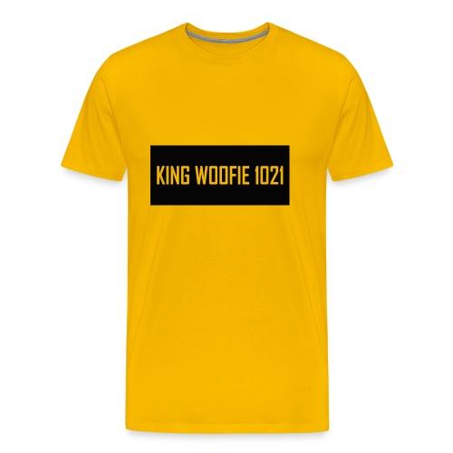 Woofie Logo - Men's Premium T-Shirt