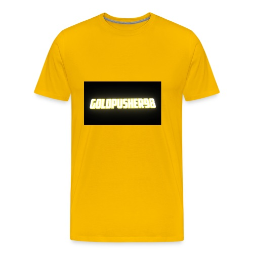 GoldPusher98 - Men's Premium T-Shirt