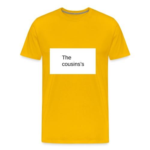 The Cousins's - Men's Premium T-Shirt