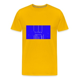 Shining Narwhale - Men's Premium T-Shirt