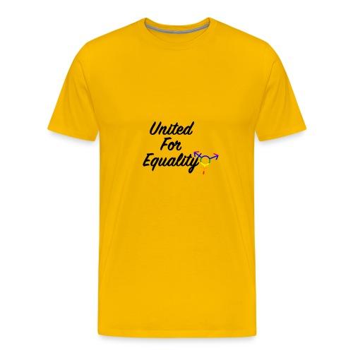 United For Equality Logo - Men's Premium T-Shirt