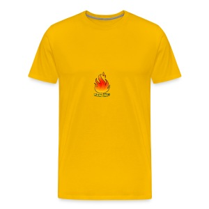 The HowLit Flame - Men's Premium T-Shirt