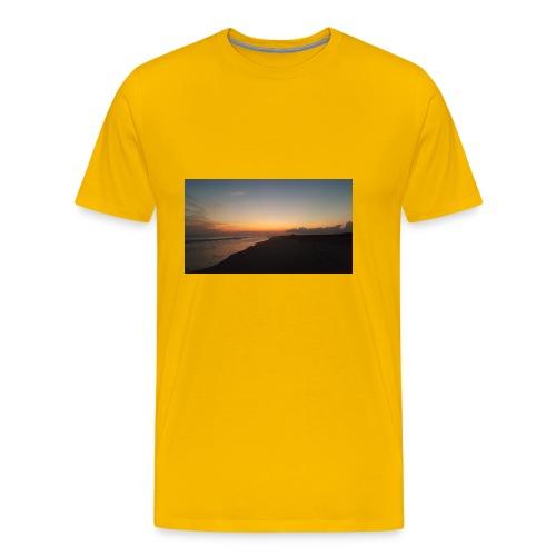 Ocean Sunset - Men's Premium T-Shirt