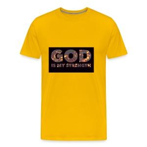 Travis the god - Men's Premium T-Shirt