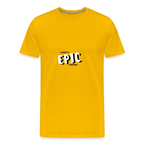 Scoutr's Epic Summer - Men's Premium T-Shirt