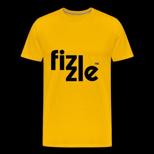 WearFizzle Logo Black - Men's Premium T-Shirt