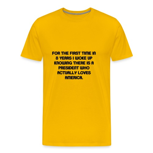President Loves USA - Men's Premium T-Shirt