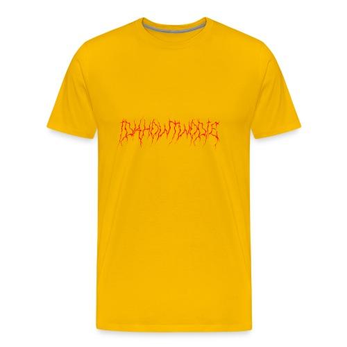 IDKHOW2DIE METAL RED - Men's Premium T-Shirt