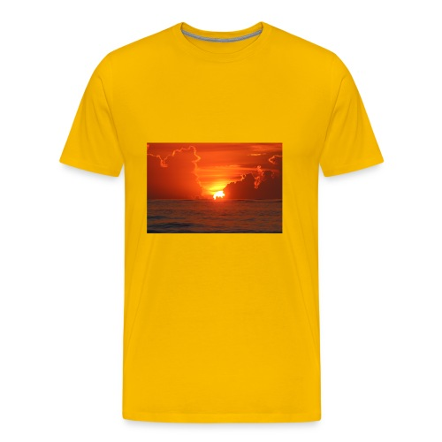 Sunrise on Vilano Beach - Men's Premium T-Shirt