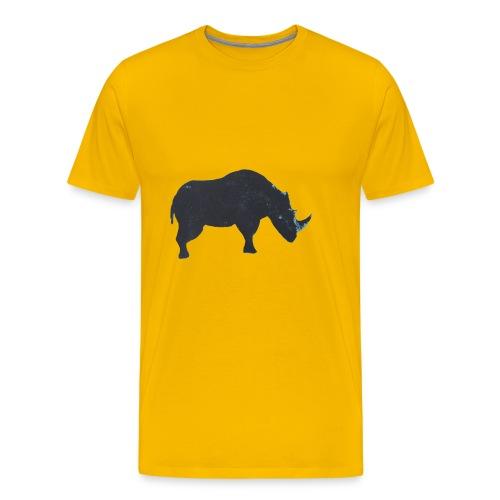 Rhino print - Men's Premium T-Shirt