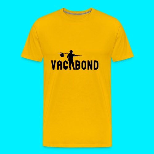 Vagabond Logo Wide - Men's Premium T-Shirt