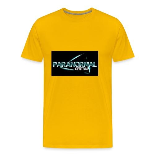 Paranormal Central On Black - Men's Premium T-Shirt