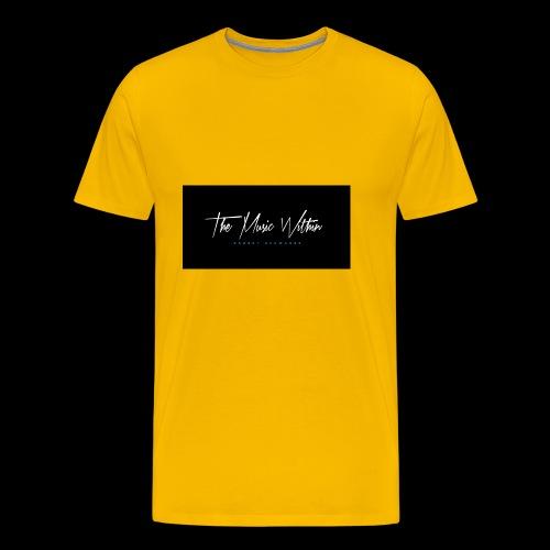 the music within mens hoodie - Men's Premium T-Shirt