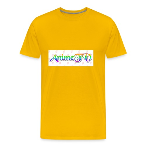 AnimeTV Fan T-Shirt - Men's Premium T-Shirt