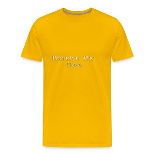 Brendyn The Boss - Men's Premium T-Shirt
