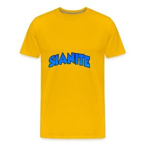 SIANITE SHIRT LOGO - Men's Premium T-Shirt