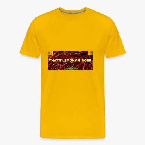 That's Lemony Ginger - Men's Premium T-Shirt