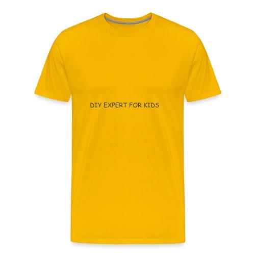 DIY EXPERT FOR KIDS LOGO 2 - Men's Premium T-Shirt