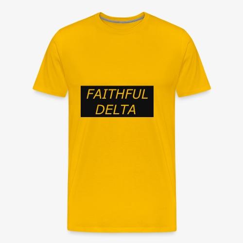 Faithful - Men's Premium T-Shirt