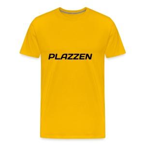 Plazzen Logo - Men's Premium T-Shirt