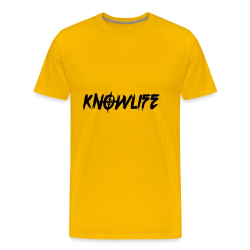 Knowlife Target - Men's Premium T-Shirt