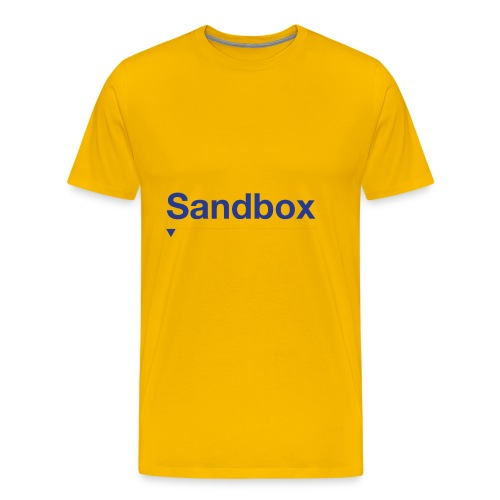 sandbox merch - Men's Premium T-Shirt