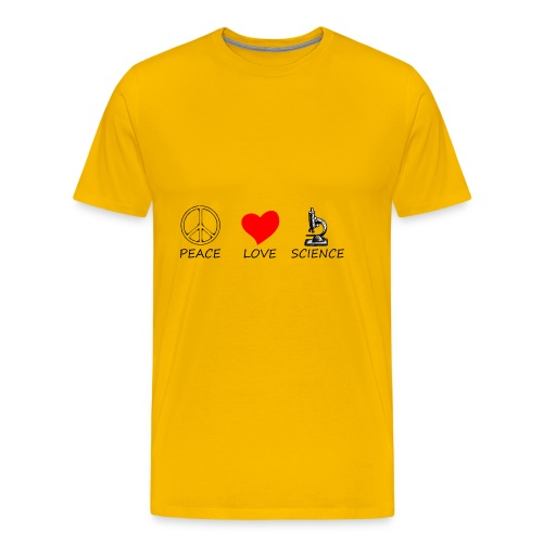 peace love3 - Men's Premium T-Shirt