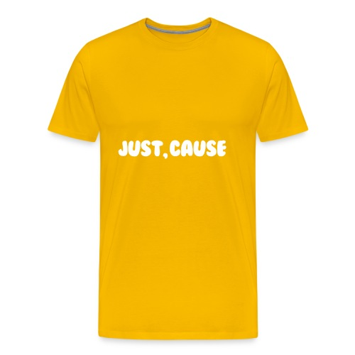 Just Cause Mens T-Shirt - Men's Premium T-Shirt