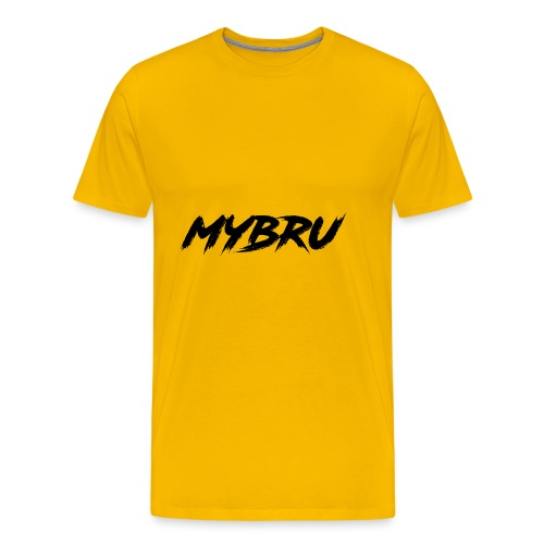 my bru - Men's Premium T-Shirt