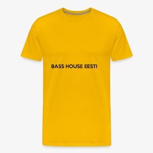 Bass House Eesti Logo Black - Men's Premium T-Shirt