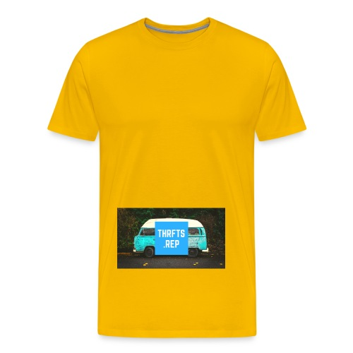 thrfts rep - Men's Premium T-Shirt