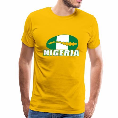 Nigeria caracol on color - Men's Premium T-Shirt