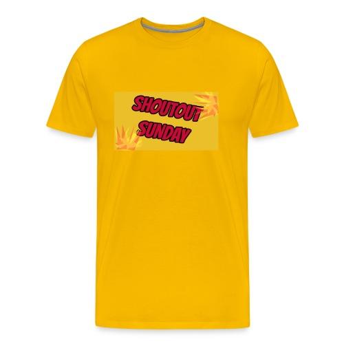 SHOUTOUT Sunday Merch - Men's Premium T-Shirt