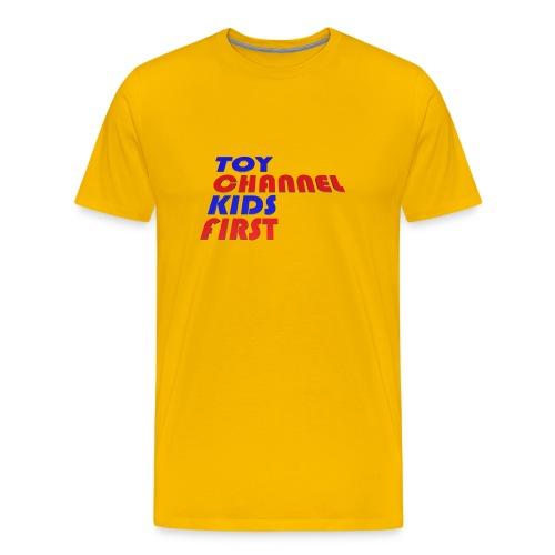 TOY CHANNEL KIDS FIRST - Men's Premium T-Shirt
