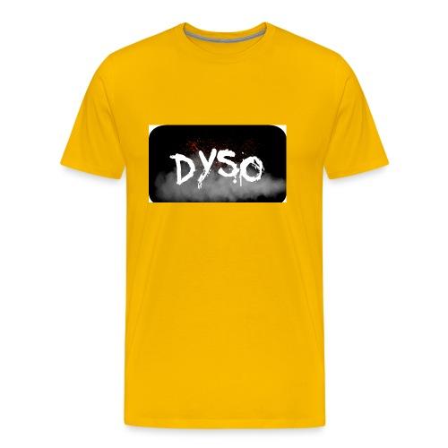 Dyso Platinum design - Men's Premium T-Shirt