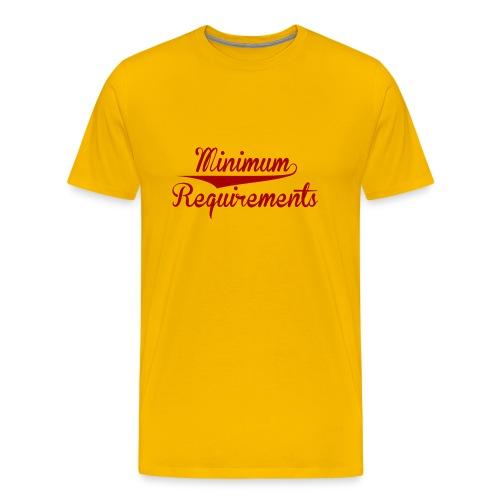 Logo Design - Men's Premium T-Shirt