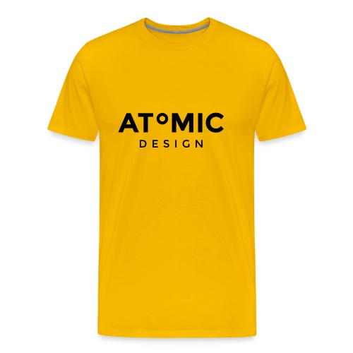 Atomic Design Brand Logo - Men's Premium T-Shirt