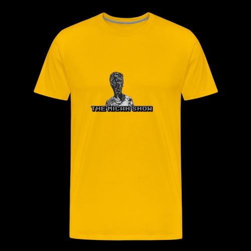 Limited Edition Silver Micah Show Logo's - Men's Premium T-Shirt
