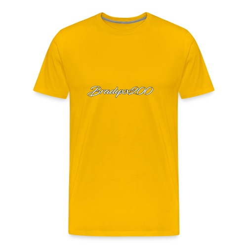 BRADYXX200 1st Edition Merch - Men's Premium T-Shirt