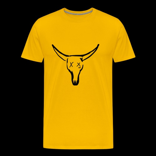 BASE Dead Bull 222 TAT - Men's Premium T-Shirt