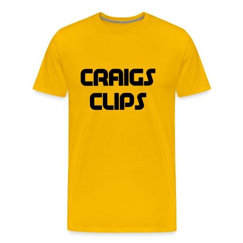 craigs clips - Men's Premium T-Shirt