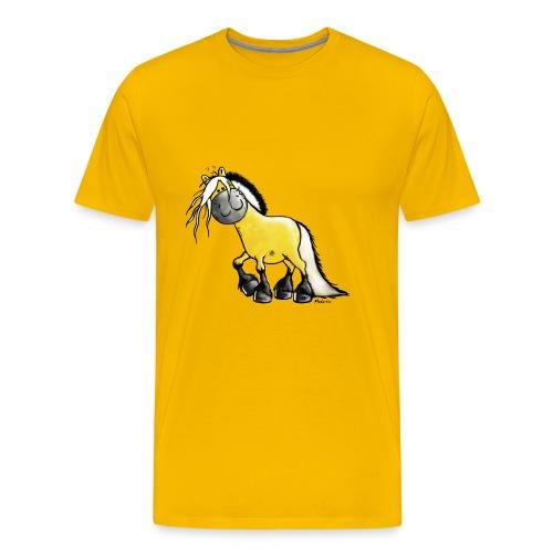 fjord_horse - Men's Premium T-Shirt