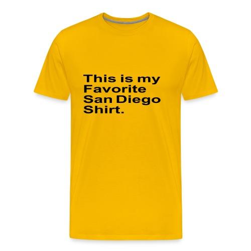 Favorite San Diego - Men's Premium T-Shirt