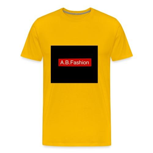 new a.b.fashion limited edition fashion product - Men's Premium T-Shirt