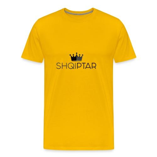 shqiptar black albanian proud king - Men's Premium T-Shirt