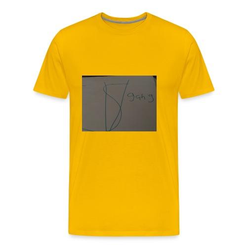 Sv gang kids hoodie - Men's Premium T-Shirt